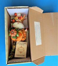 2009 Mark Roberts Pumpkin Pie Fairy Ltd Edition 51-92290