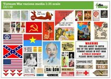 DioDump DD148 Vietnam War various media - posters, magazines, signs 1:35 diorama