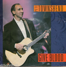 PETE TOWNSHEND Give Blood / Magic Bus 45 - The Who - Pink Floyd - Dave Gilmour