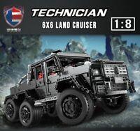 LEGO COMPATIBIL.E 100% Technic ☆3300 pz ► MOC MERCEDES G63AM 6x6 1/8 ◄NEW PERFET