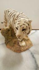 More details for sherratt and simpson white tiger walking figurine 56385 vgc h11cm x l21cm...