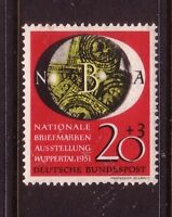GERMANY....  1951  20pf national philatelic exhibition mint....cv £50