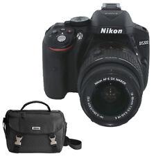 Nikon D5300 24.2 MP Digital SLR Camera with AF-P 18-55mm VR Lens (Black)-Top Kit