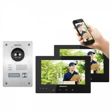 Megasat VT 110 Video Türkamera Funk Türsprechanlage mit 2 Touchscreen Monitore 2