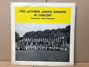 The Latymer Junior Choir - In concert - Deroy – Deroy 1216 - Vinyl VG