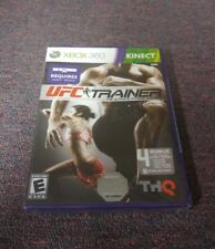 UFC Personal Trainer The Ultimate Fitness System (Microsoft Xbox 360, 2011)