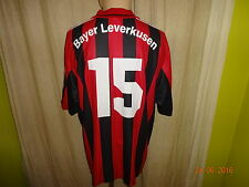 "Bayer 04 Leverkusen ADIDAS Matchworn Trikot 2000/01 ""avanza RWE"" + N. 15 Taglia XL"