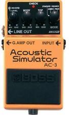 Boss pedale effetto AC3 Acoustic Simulator