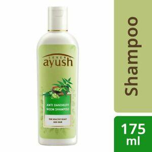 Lever Ayush Anti Dandruff Neem Shampoo, 175ml