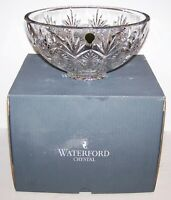 """EXQUISITE LARGE SIGNED WATERFORD CRYSTAL 40015224 NORMANDY 10"""" BOWL IN BOX"""