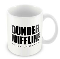 Dunder Mifflin Mug TV Funny Gift Idea Office cup coffee office xmas party 95