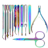 Chameleon Nail Art Cuticle Pusher Cutter Clipper Dead Skin Remover Tool