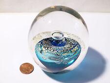 Vintage Peter Viesnik '89 Glass Paperweight Hot Glass Company Devonport