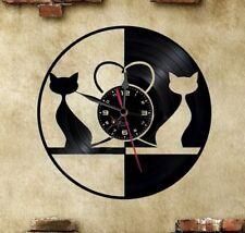 Orologio disco vinil clock orologio da parete  Gatti