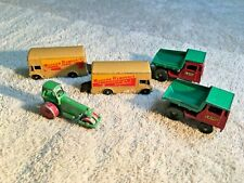 5 Vintage Toy Vehicles - 2 Budgie #58 - 2 Lesney #26 - 1 Other- Nice Find- A1729