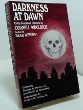Darkness at Dawn - Early Suspense Classics by Cornell Woolrich - BOMC edition