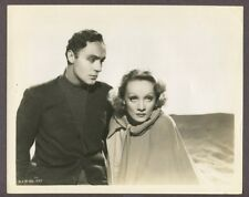 Marlene Dietrich & Charles Boyer 1936 Original Photo Garden Of Allah J5479