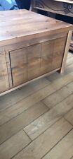 Solid Oak Coffe Table/storage Unit
