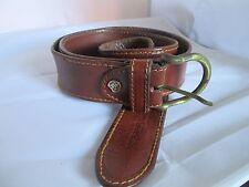 Magnifique ceinture MARCO CELI en cuir TBEG  vintage  à saisir Belt