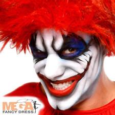 White Cream Make Up Fancy Dress Halloween Clown Kids Adults Costume Face Paint