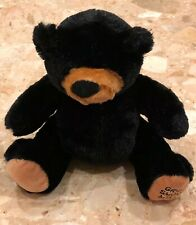 "Great Smoky Mountains Plush Black Bear Toy Stuffed Animal Wishpets 12"""