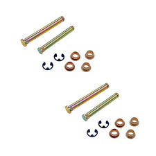 Door Hinge Pin and Bushing Kit - Pair (16 Pieces)- Fits Dodge Ram Truck 94-01
