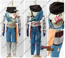 Legend of Zelda Hyrule Warriors Impa Cosplay Costume outfit