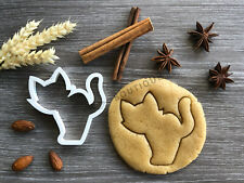Cat Halloween Cookie Cutter | Fondant Cake Decorating | UK Seller
