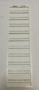 WAGO 793-556 Bezeichnungskarten 5 St.