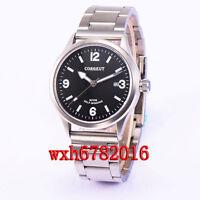 41mm Corgeut Sapphire Crystal Luminous black dial Automatic Watch Men