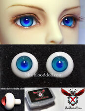 1/3 1/4 1/6 bjd 16mm turquoise blue high quality glass doll eyes dollfie #TS-11