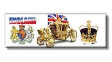 England Krone Kutsche Queen Foto Panorama Magnet Souvenir Fridge