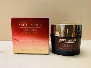 Estée Lauder NUTRITIOUS Vitality8 Night Overnight Creme/Mask 1.7 Oz *NEW IN BOX*