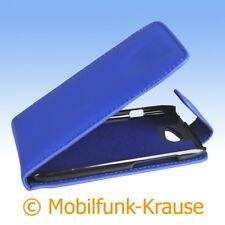 Flip Case Etui Handytasche Tasche Hülle f. HTC One S (Blau)