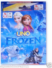 FROZEN UNO PLAYING CARDS NEW 2 to 10 PLAYERS BRAND NEW FREE POST