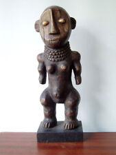 Sculpture H=40cm RDC Congo Zaïre, figure DRK Kongo, Collection Art Africain