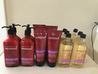 Bath & Body Works Aromatherapy SENSUAL BLACK CURRANT VANILLA Lotion Wash Pick 1