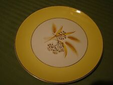 CENTURY SERVICE AUTUMN GOLD LOT OF 3 DINNER  PLATES FREE U.S. SHIPPING!