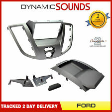 CT23FD68 Car Stereo Double Din Fascia Panel Grey for Ford Transit 2015>