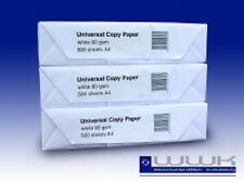 2500 Blatt Kopierpapier DIN A4 Druckerpapier Faxpapier 80g Papier hoch weiß