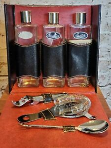 Portable  carrying case traveling Bar Bourbon Rye Scotch bottles