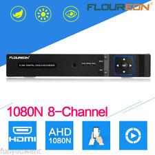 8CH Channels 5IN1 TVI 1080N AHD NVR CCTV Cloud Network HDMI DVR Video Recorder