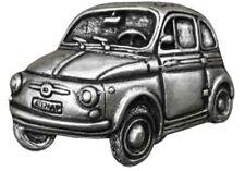 Gürtelschnalle Fiat 500 Topolino silber Oldtimer
