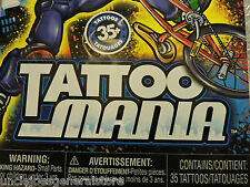 MANIA TATTOOS, Over 35 Temporary Tattoos  + Made in USA *Ages 4+