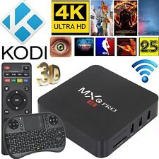 KODI - IPTV PREMIUM BUILD S905X QUADCORE MXQ PRO 4K ANDROID 6.0 TV BOX+AIRMOUSE