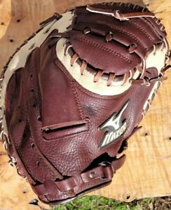 """Mizuno GXC-93 Pro Scoop 33.5"""" Baseball Softball Catchers Mitt Right Hand Throw"""