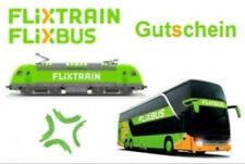 Flixbus Freifahrt Gutschein Alle Strecken auch mit Umstiege
