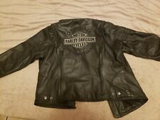 Harely Davidson Leather Jacket XL Womans Great Condition