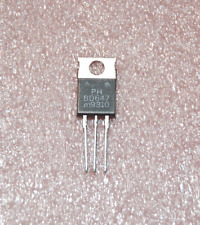 BD647 NPN Darlington Transistor 80V 8A TO-220 Philips Used in Gibson Amps Qty= 5