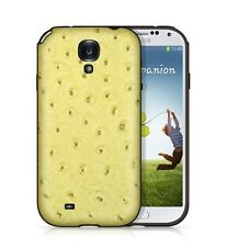Backhug Luxury Soft Case for Samsung Galaxy S4 Leather TPU Suede, Ostrich Green